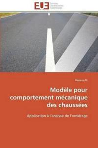 Modele Pour Comportement Mecanique Des Chaussees