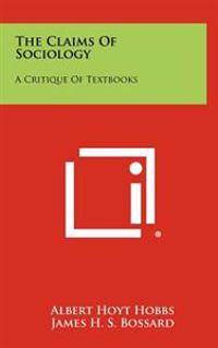 The Claims of Sociology: A Critique of Textbooks