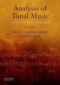 Analysis of Tonal Music: A Schenkerian Approach