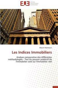 Les Indices Immobiliers