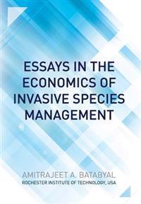 Essays in the Economics of Invasive Species Management