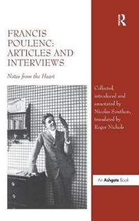 Francis Poulenc, Articles and Interviews