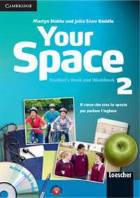 Your Space Level 2 Student's Book and Workbook with Audio CD, Companion Book with Audio CD, Active Digital Book Ital Ed