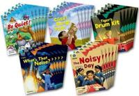 Project X Origins: Green Book Band, Oxford Level 5: Making Noise: Class Pack of 30