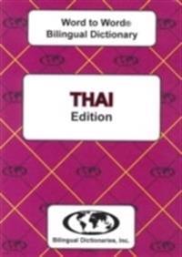 English-ThaiThai-English Word-to-Word Bilingual Dictionary