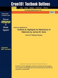 Outlines & Highlights for Mechanics of Materials