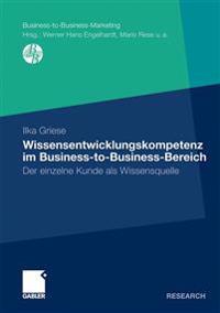 Wissensentwicklungskompetenz Im Business-to-business-bereich