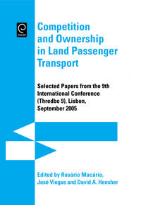 Competition and Ownership in Land Passenger Transport