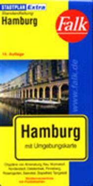 Hamburg Karta Falk