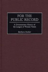 For the Public Record