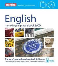 Berlitz English Phrase Book & CD [With Phrase Book]
