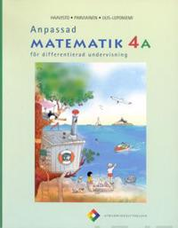 Anpassad matematik 4 A