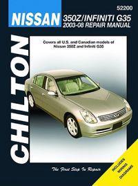 Nissan 350Z & Infiniti G35 2003-08 Repair Manual