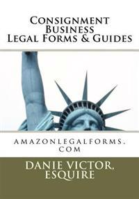 Consignment Business Legal Forms & Guides: Amazonlegalforms.com