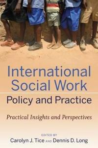 International Social Work Policy and Practice