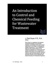 An Introduction to Control and Chemical Feeding for Wastewater Treatment
