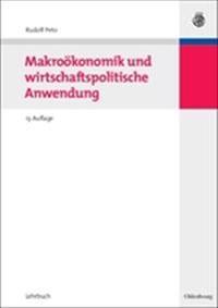 Makrookonomik Und Wirtschaftspolitische Anwendung
