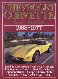 Chevrolet Corvette 1968-77 Gold Portfolio