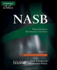Wide-Margin Reference Bible-NASB