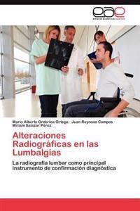 Alteraciones Radiograficas En Las Lumbalgias