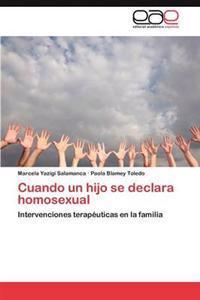 Cuando Un Hijo Se Declara Homosexual
