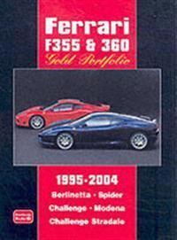 Ferrari F355 & 360 Gold Portfolio, 1995-2004