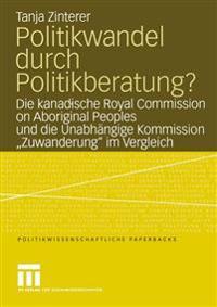 Politikwandel Durch Politikberatung?