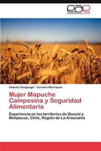 Mujer Mapuche Campesina y Seguridad Alimentaria