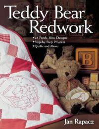 Teddy Bear Redwork