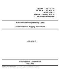 TM 4-48.11 (FM 4-20.199) McRp 4-11.3e, Vol III, Nttp 3-04.13, Afman 11-223 (I), Vol III, Comdtinst M13482.4b Multiservice Helicopter Sling Load: Dual-