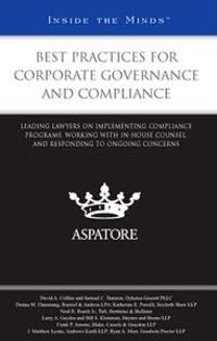 Best Practices for Corporate Governance and Compliance