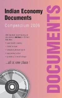 Indian Economy Documents Compendium 2006