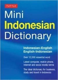 Mini indonesian dictionary - indonesian-english/english-indonesian