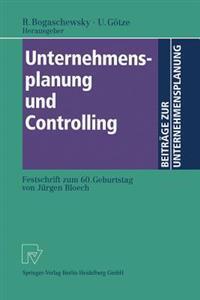 Unternehmensplanung Und Controlling