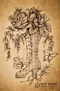 Velvet Blossoms Antique Journal