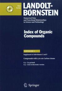 Compounds with 13 to 162 Carbon Atoms (Supplement to Subvolume C and F)