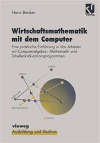Wirtschaftsmathematik Mit Dem Computer