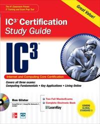 IC3 Internet Core and Computing Certification