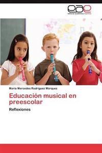Educacion Musical En Preescolar