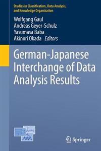 German-Japanese Interchange of Data Analysis Results