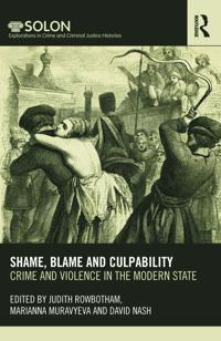Shame, Blame and Culpability
