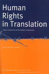Human Rights in Translation: Legal Concepts in Different Languages