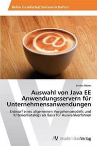 Auswahl Von Java Ee Anwendungsservern Fur Unternehmensanwendungen