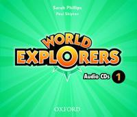 World Explorers: Level 1: Class Audio CDs
