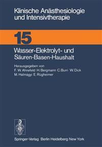 Wasser-Elektrolyt- und Sauren-Basen-Haushalt