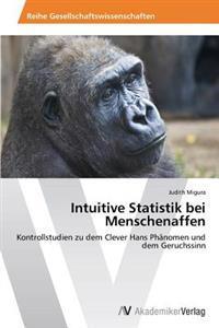 Intuitive Statistik Bei Menschenaffen