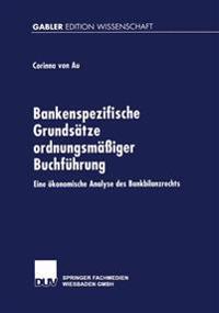 Bankenspezifische Grundsätze Ordnungsmässiger Buchführung