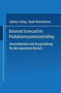 Balanced Scorecard Im Produktionssystemcontrolling