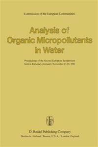 Analysis of Organic Micropollutants in Water