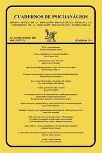 Cuadernos de Psicoanalisis, Organo Oficial de La Asociacion Psicoanalitica Mexicana, A.C. Componente de La Asociacion Psicoanalitica Internacional, Ju